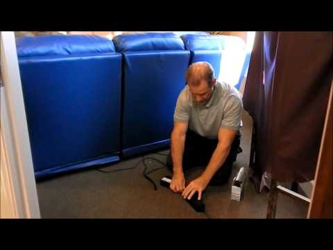 How to use Battery Pack on Palliser Leather Furniture