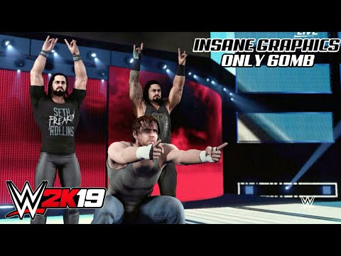 Real WWE 2K19 MOD FOR ANDROID ONLY IN 60MB|DOWNLOAD HIGH GRAPHICS WWE 2K19  MOD FOR ANDROID|WR3D 2K19