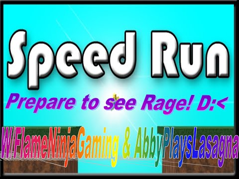 THIS FKING GAME IS HARD!! (pause) - Roblox: Speed Run w/Flam