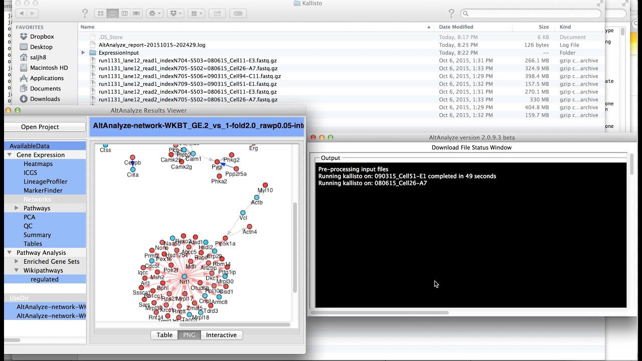 Analyzing Fastq Files In Altanalyze With Kallisto Youtube