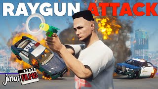 RAYGUN ATTACKS THE COPS! | PGN…
