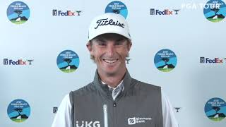 Will Zalatoris: Tuesday Presser 2021 AT&T Pebble Beach Pro Am