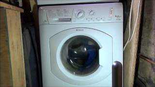 hotpoint hv8b593 washing machine cotton standard 60 a cycle complete cycle