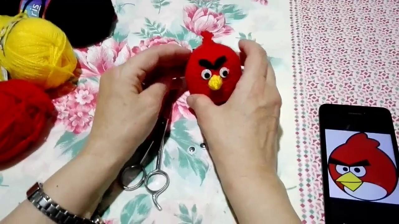 Tutorial Amigurumi Angry Bird : Angry bird negro realizado gracias al patron tutorial de