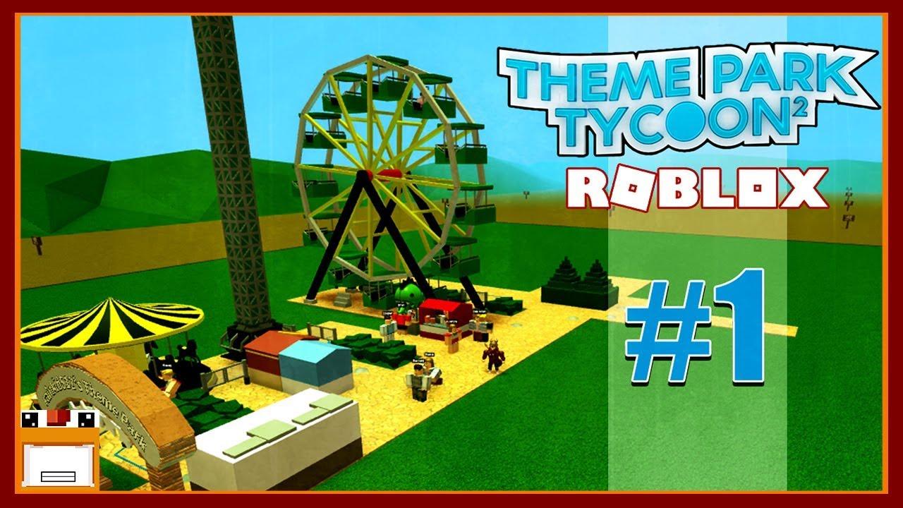 ROBLOX | XÂY DỰNG CÔNG VIÊN GIẢI TRÍ CỦA GÀ | Theme Park Tycoon 2 - Tập 1 #1