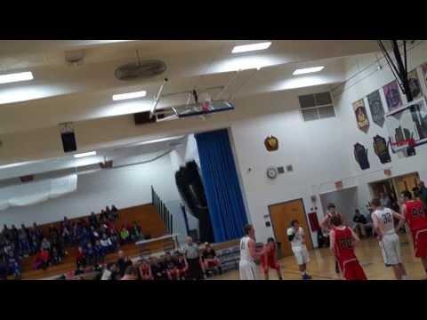 Turner Moen scores 1000th point of high school career