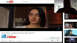The Glitch short horror reaction