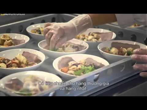 How Do They Do It? Airline food service   Mega Food
