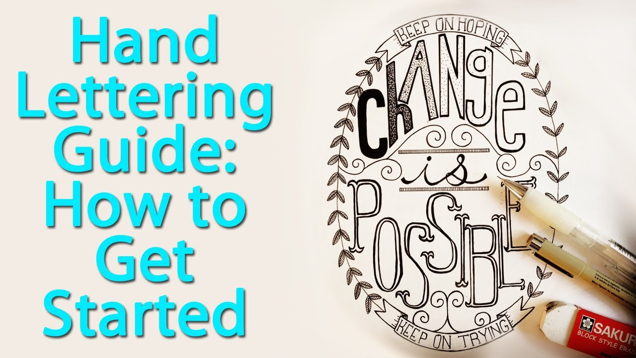 how to hand letter lettering a step by step guide to layouts 10514 | maxresdefault