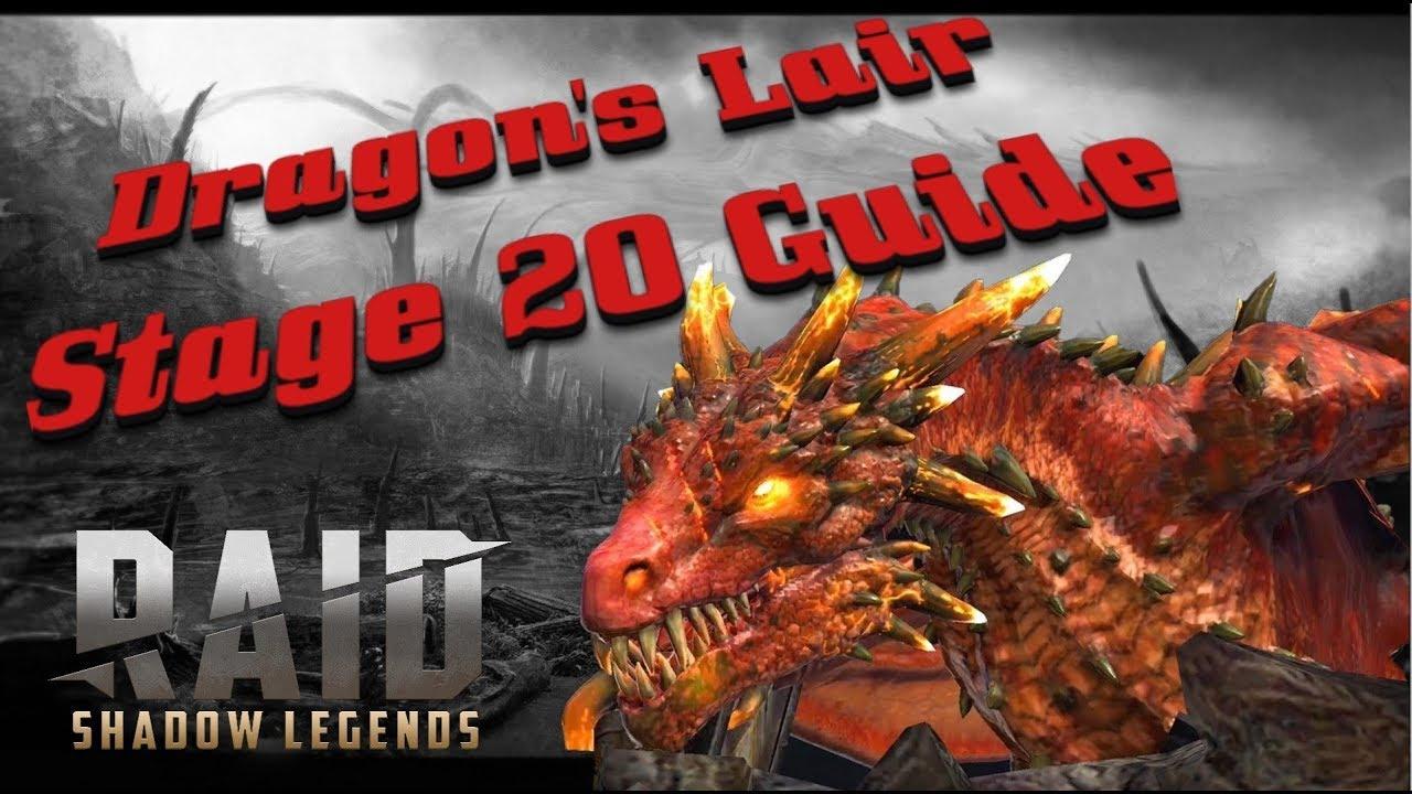 Raid Shadow Legends: Dragon's Lair Stage 20 Guide