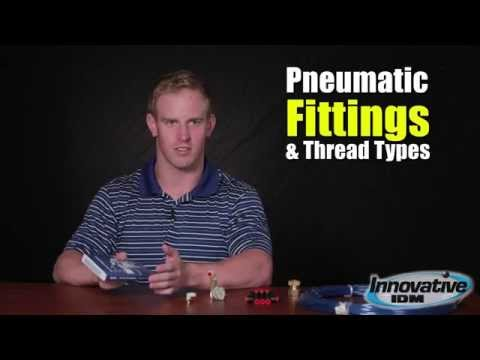 Pneumatic Fittings and Thread Types