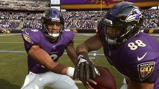 Madden NFL 19: AFC Wildcard Baltimore Ravens vs. Los Angeles Chargers Simulation