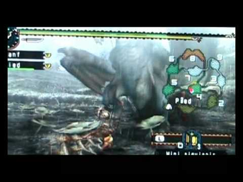 Fanf et Pied - Monster Hunter Freedom Unite