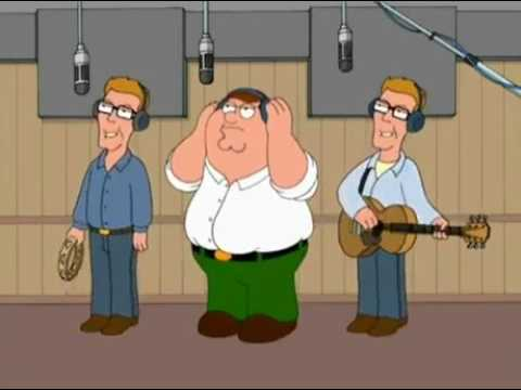 Family Guy - Peter with The Proclaimers singing I'm Gonna Be