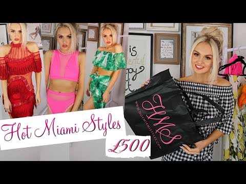 HUGE SUMMER HAUL // TRY ON // HOT MIAMI STYLES