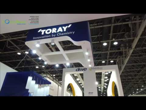 Boundless Events Exhibition Stand TORAY