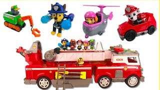 Learn Colors with Paw Patrol's New Firetruck Helps Save Mayor Goodway
