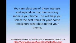 Interior Design - Contemporary End Tables With Drawers 05-1