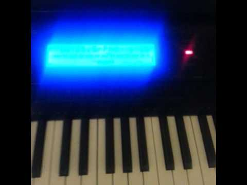 Kahoot! Intro Music on the Casio WK-500 Piano Keyboard