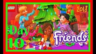 Lego Friends Day 10 Advent Calendar Christmas Decorations 2018 building fun kids toys