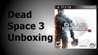 Dead Space 3 Limited Edition Unboxing (Playstation 3)