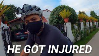 Фото Expecting My Leg To Dangle Like Anderson Silva (Bike Accident)