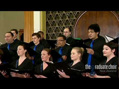 Dear Lord and Father of Mankind - Parry / Willcocks - The Graduate Choir NZ