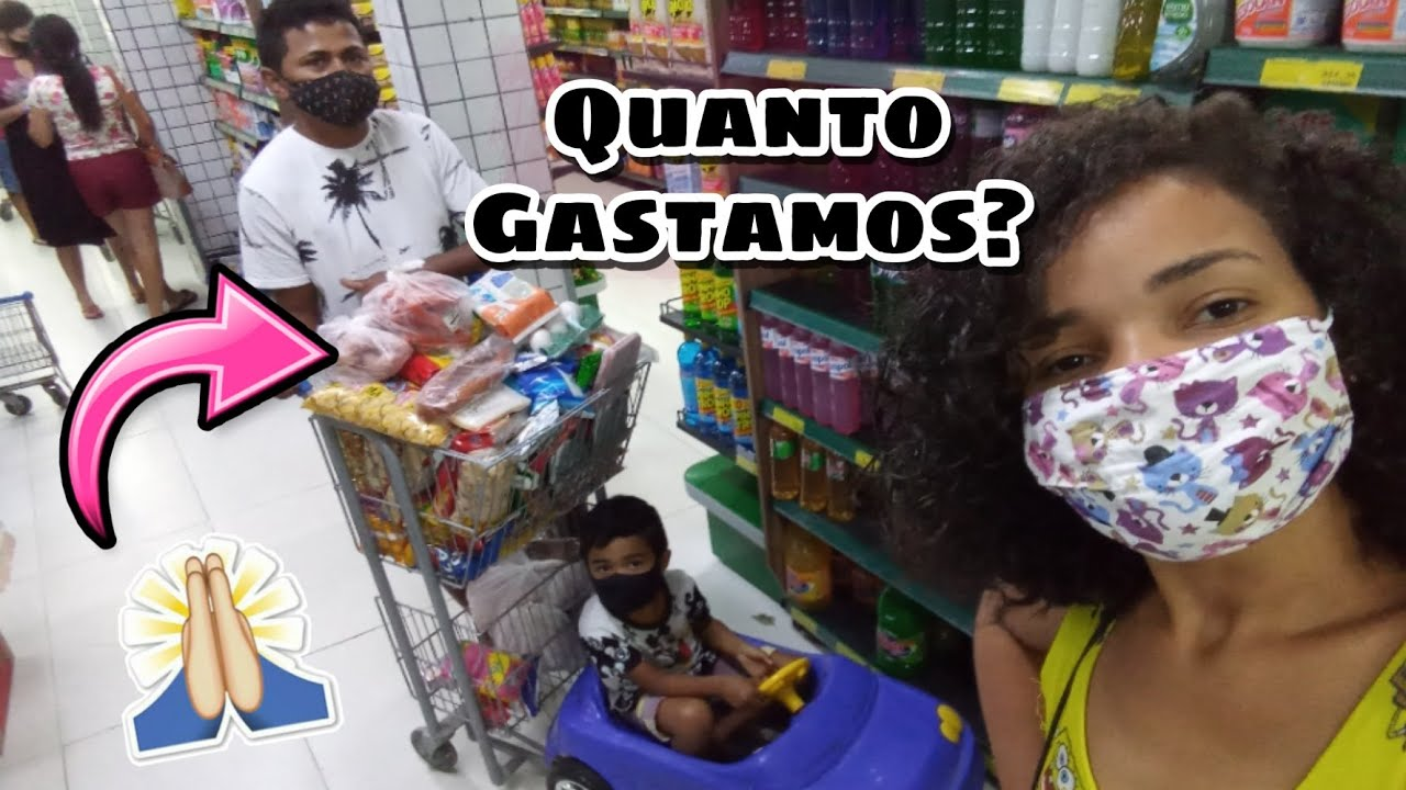 PRIMEIRA COMPRA DO MÊS PRA CASA NOVA/ COMPRAS DE MERCADO