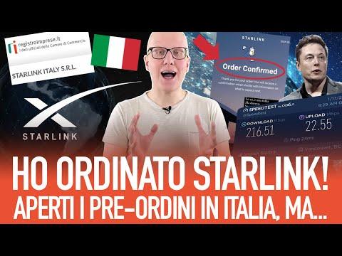 Starlink in Italia: tutto ciò che devi sapere su pre-ordini, prezzi, prestazioni e autorizzazioni!
