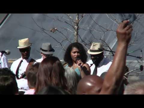Latasha Lee & the Black Ties @ MAPJAM at Tillery Park - Austin, TX - Feb 16, 2014