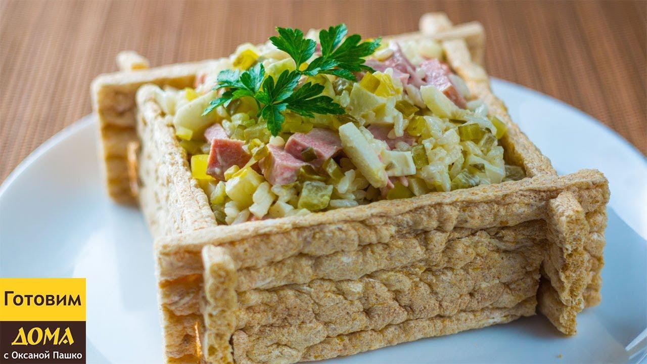 Шикарный салат с сардельками: вся семья будет в восторге