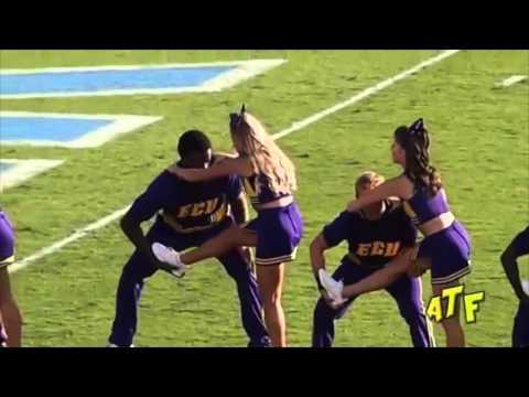 Cheerleading stunts gone wrong