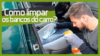Como limpar SEM GASTAR DINHEIRO os bancos do carro - TUNING PARTS