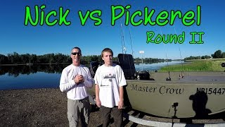 Hunting Chain Pickerel With The Canadian Fisher-2018