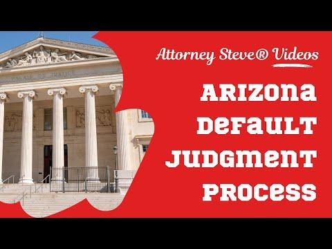 Arizona Default Judgment Rule 55