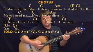 Video Dive (Ed Sheeran) Strum Guitar Cover Lesson in C with Chords/Lyrics download MP3, 3GP, MP4, WEBM, AVI, FLV Januari 2018