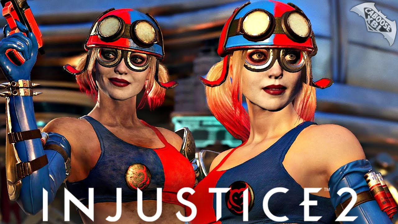 Injustice 2 Online - EPIC HARLEY QUINN GEAR! - YouTube