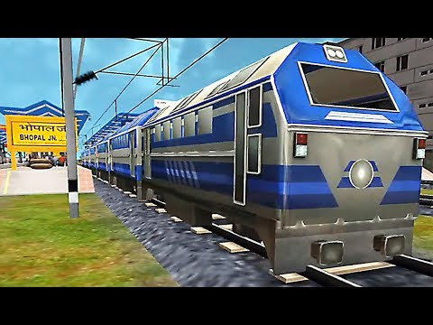 Indian Metro Train Simulator - Level 5 Route Madhya Pradesh Bhopal to West Bengal Kolkata