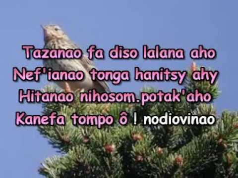 Tohano mafy aho (Karaoké)