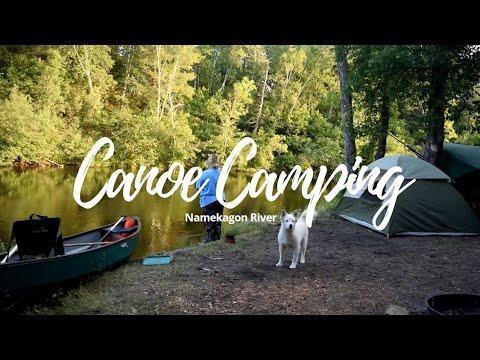 Canoeing the Namekagon - Four day voyage