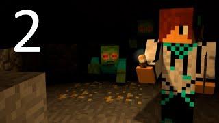 Самые смешные моменты с Лололошкой в Minecraft #2 (злобная котейка, ужасы в шахте)