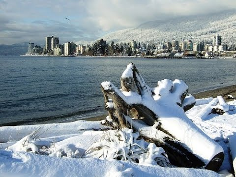 Snow day - Vancouver Downtown