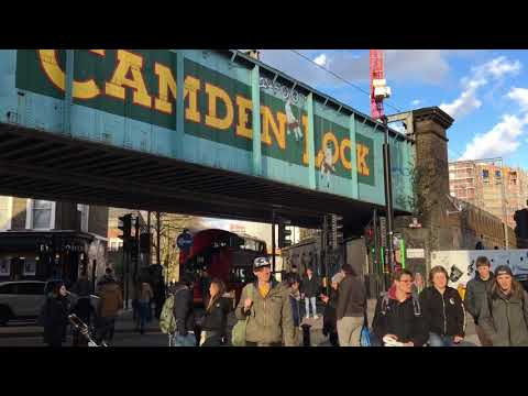 Camden Market, London NW1.                   8.3.2018 Thursday