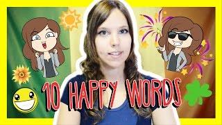 Learn the Top 10 Happy Words in Italian