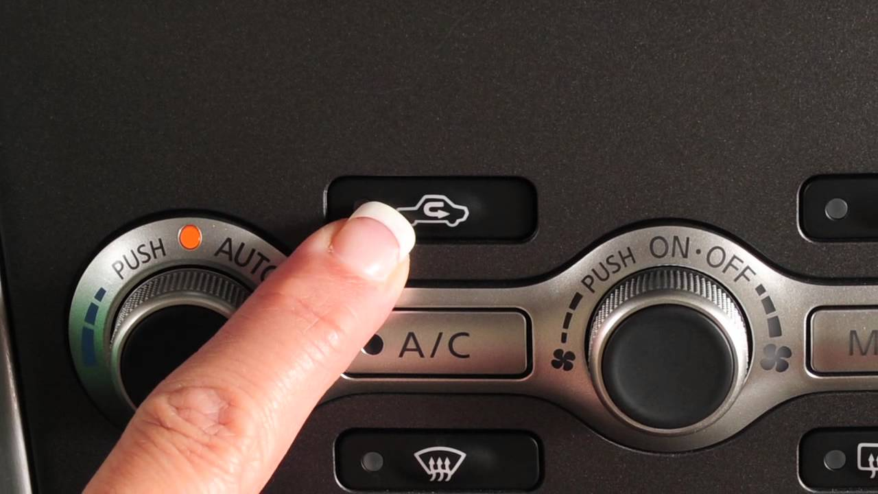 2012 Nissan Murano Automatic Climate Controls Youtube