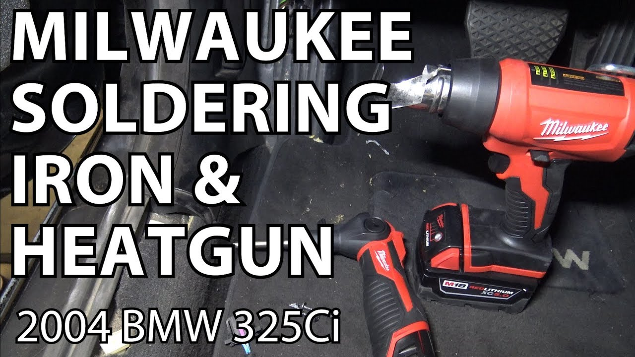 bmw e46 sound system diagnosis & wiring repair with milwaukee tools