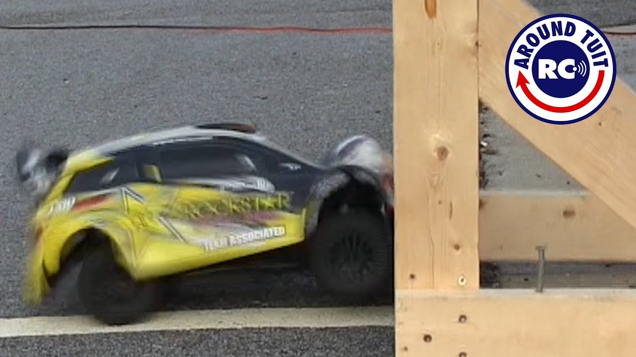 Pro Rally Crash Test with Head on Collisions! Did it Survive ...