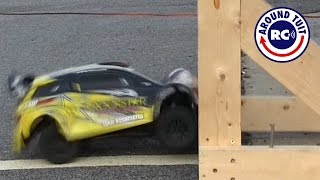 Pro Rally Crash Test with Head on Collisions! Did it Survive???