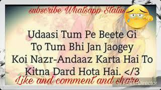 heart touching lines akelapanudasi shayari whatsapp status 30second vediofrom priyansh patel