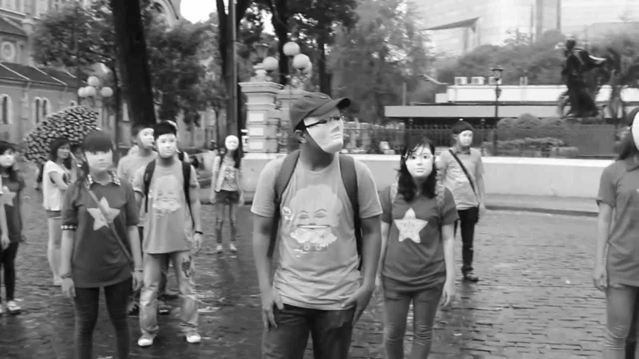 Hôm nay tôi không đeo mặt nạ